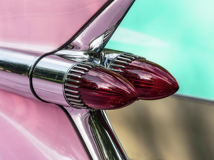 Close Up Of A Classic Vintage Car Photograph