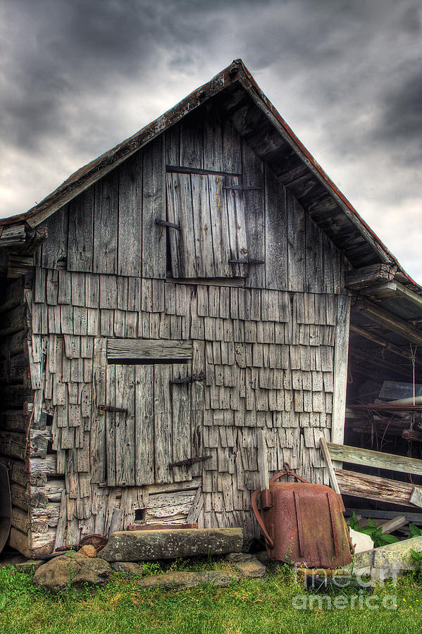 Landscape Photograph - Closed For Business by Pete Hellmann