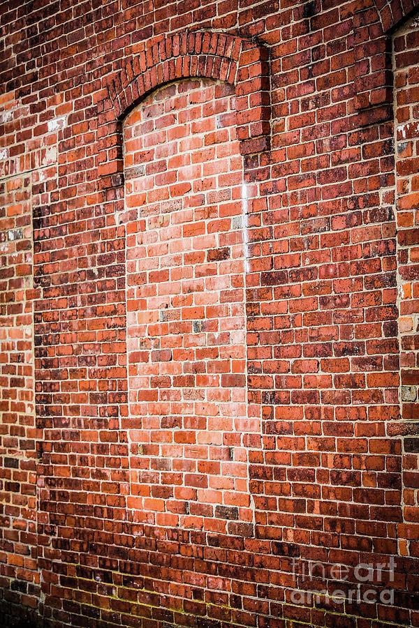 Brick Photograph - Closed Window by Deborah Brown