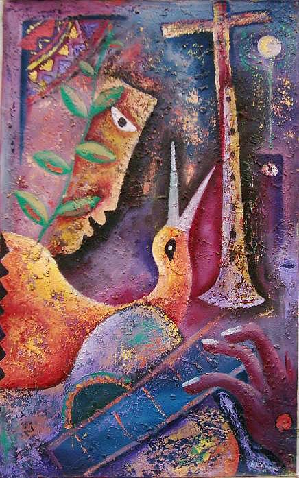 Closer To You Painting by Jacob  Wachira Ezigbo