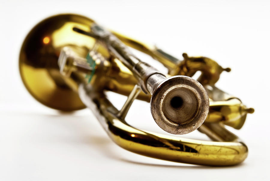 Closuep Of A Trumpet Photograph