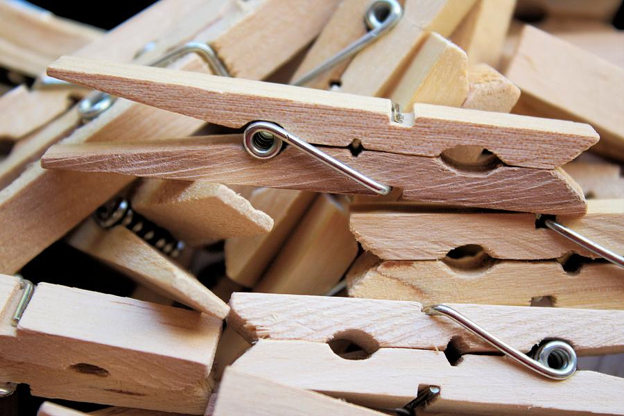 Clothespins Photograph