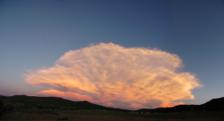 Cloud Photograph - Cloud Afar by Jerry McElroy