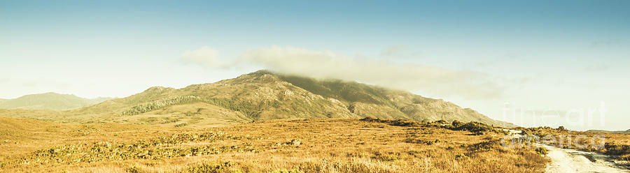 Australia Photograph - Cloud And Mountain Magnificence by Jorgo Photography - Wall Art Gallery