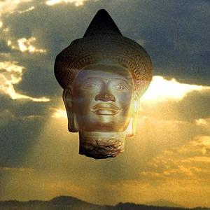 Budda Photograph - Cloud Budda by Richard Nodine