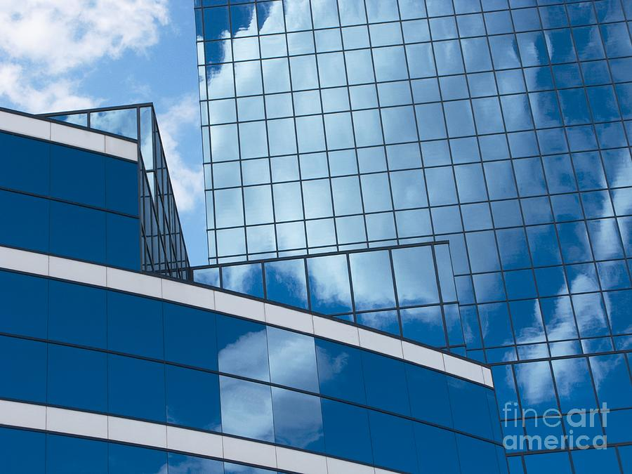 Glass Photograph - Cloud Catcher by Ann Horn