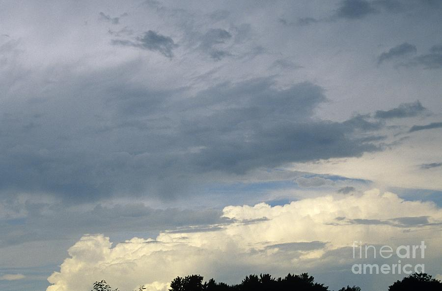 Storm Clouds Photograph - Cloud Cover by Erin Paul Donovan