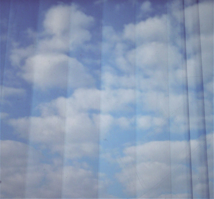 Clouds Photograph - Cloud Curtain by Julia Walsh