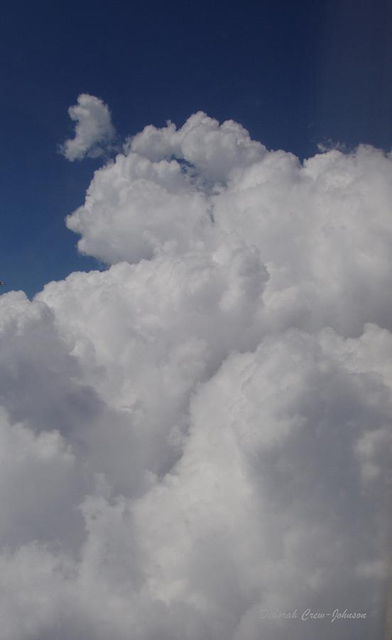 Clouds Photograph - Cloud Depth I by Deborah  Crew-Johnson