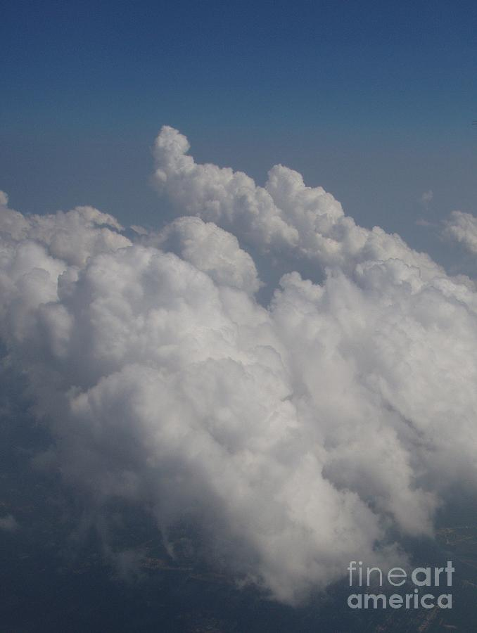 Clouds Photograph - Cloud Depth II by Deborah  Crew-Johnson