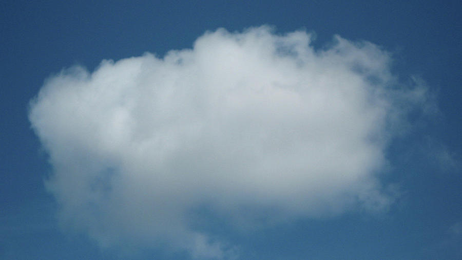 Cloud Photograph - Cloud by Emma Frost
