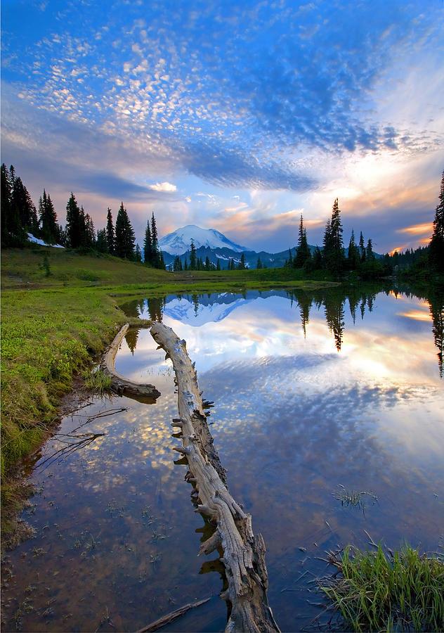 Landscape Photograph - Cloud Explosion by Mike  Dawson