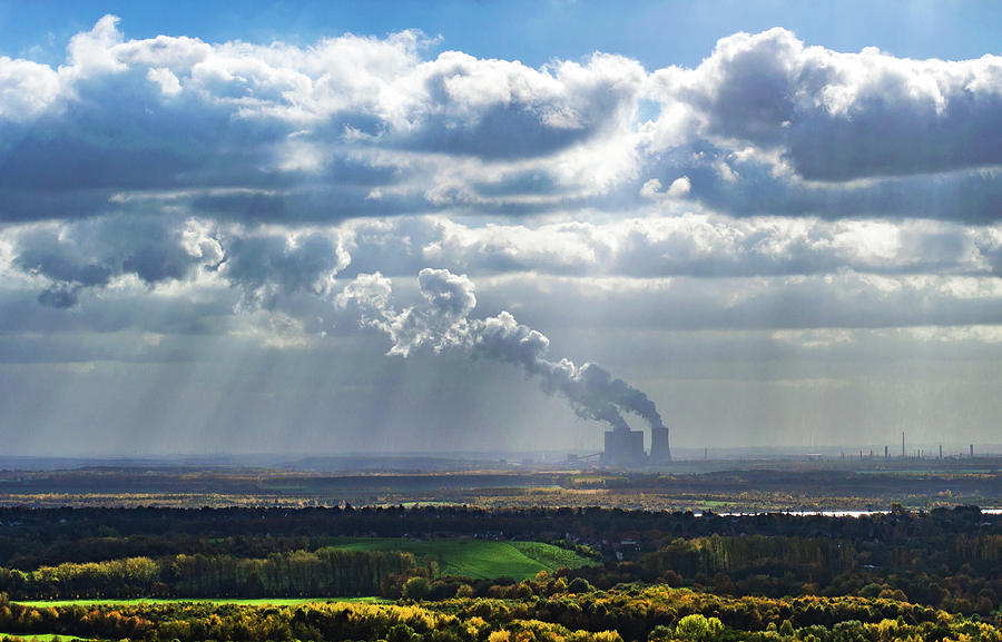 Cloud Photograph - Cloud Factory by Kyle Goetsch