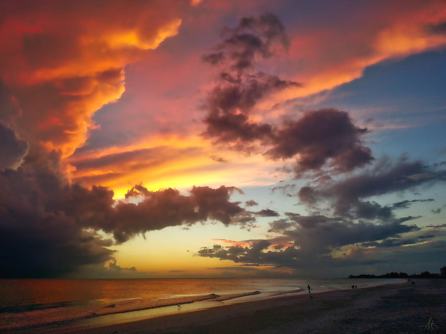 Cloud Photograph - Cloud Fire by Stuart Smith