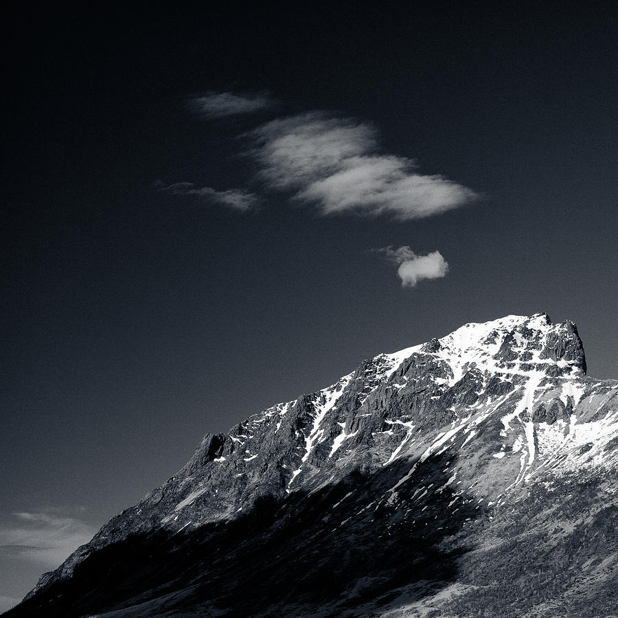 Mountains Photograph - Cloud Formation by Dave Bowman
