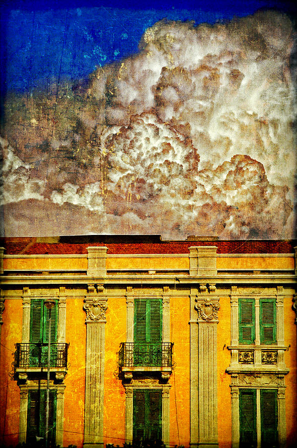 Building Photograph - Cloud Like Whipped Cream by Silvia Ganora