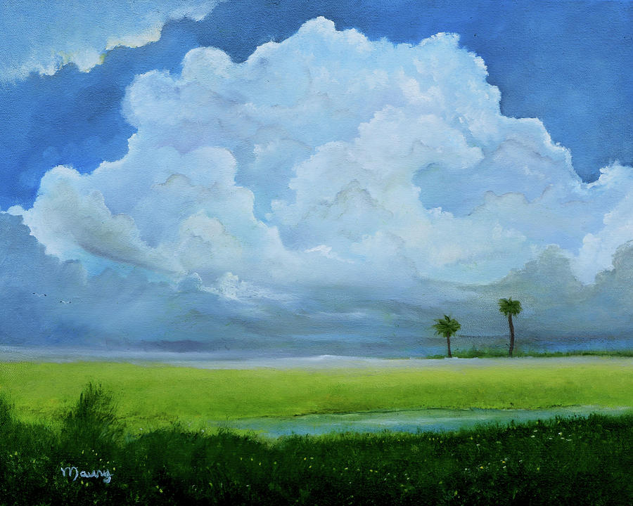 Cloud Over The Lagoon by Alicia Maury