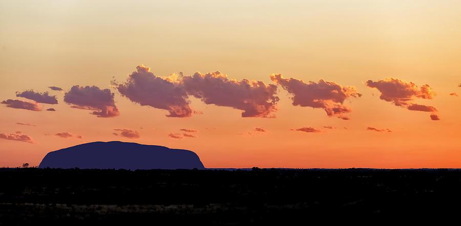 Sunset Photograph - Cloud Puffs by John Clemens