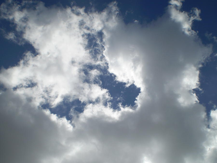 Nature Photograph - Clouds 3 by Joy Babb