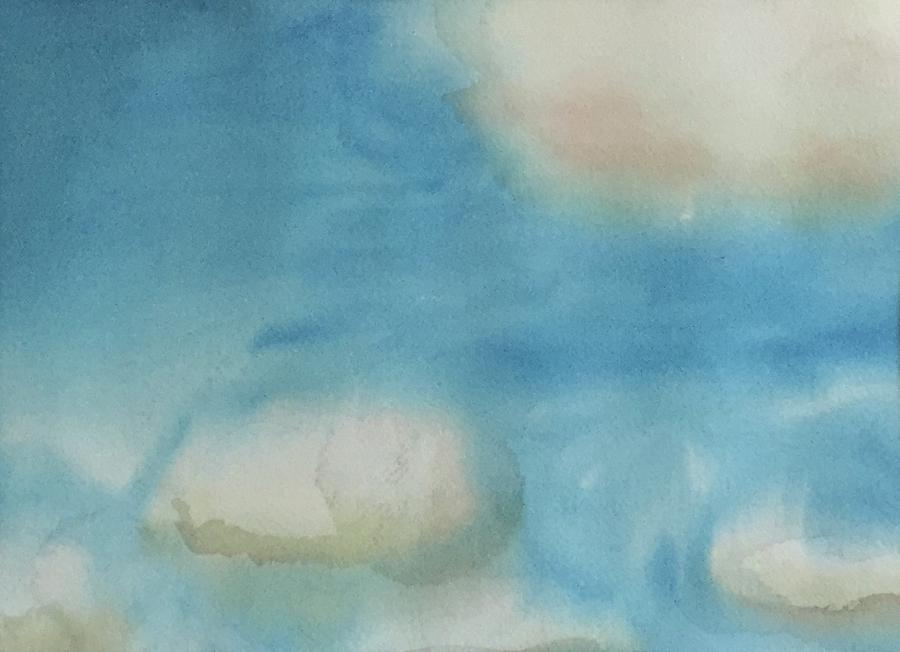 Sky Painting - Clouds by Alice Singer