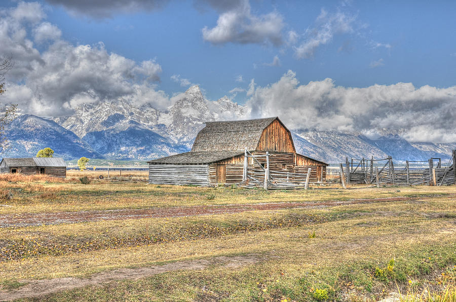 Clouds and Barn by David Armstrong
