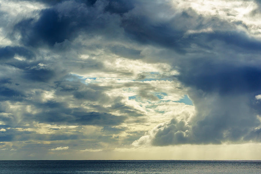 Hawaii Photograph - Clouds by Chris and Wally Rivera