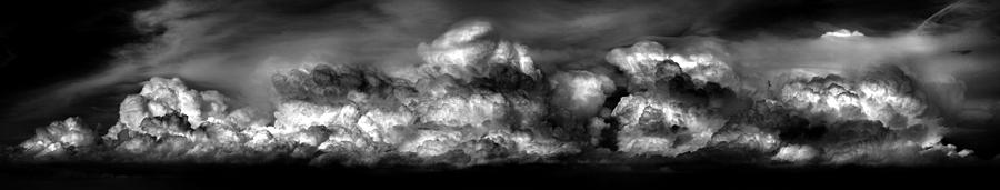 B&w Photograph - Clouds by Cole Thompson