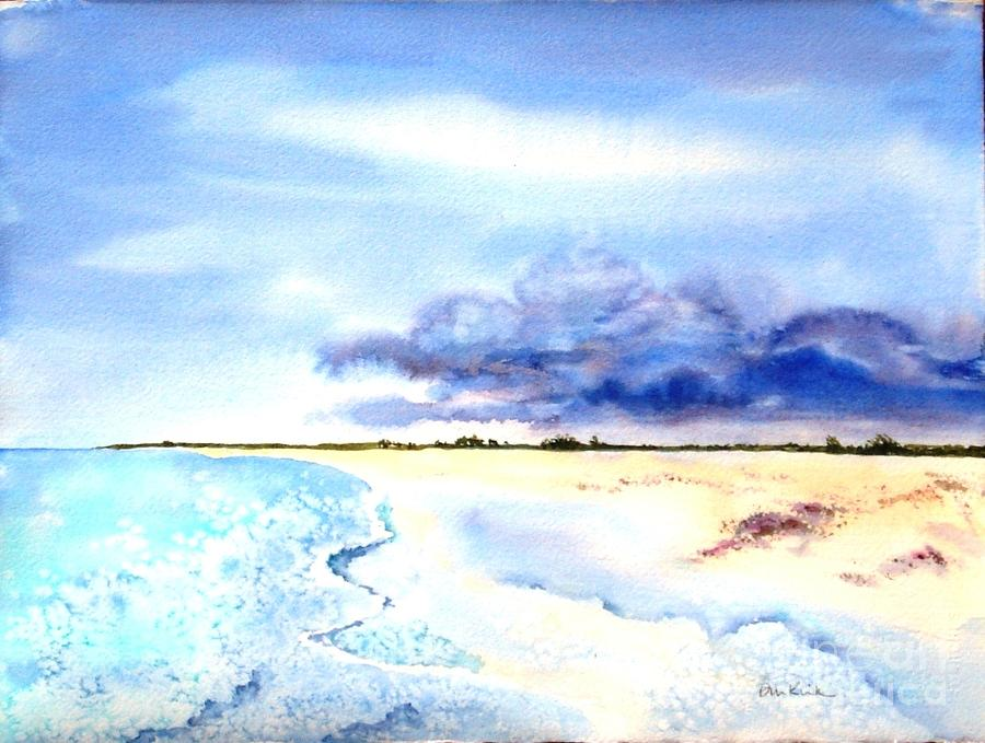 Clouds Gathering over Anegada by Diane Kirk