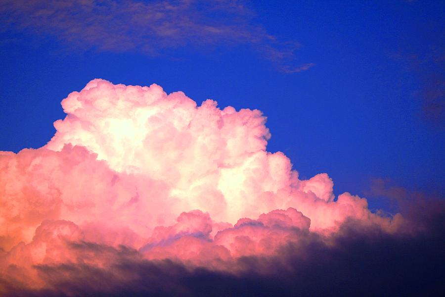 Clouds Photograph - Clouds In Mystical Sky by Lisa Johnston