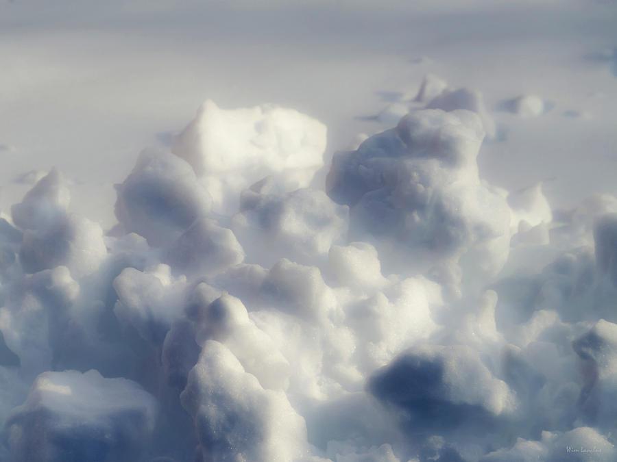 Snow Photograph - Clouds of Snow by Wim Lanclus
