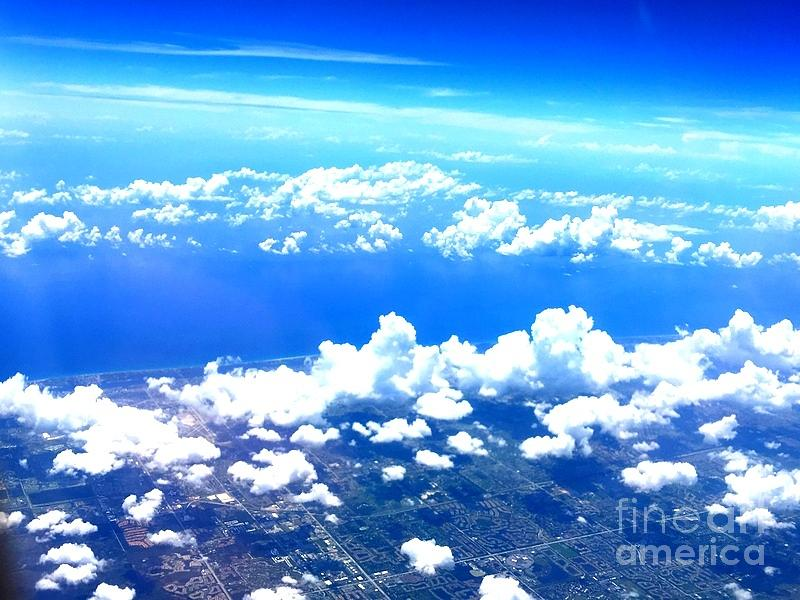 Clouds Over Florida Photograph by William Rogers