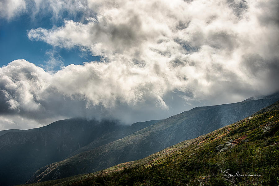 Clouds Over Mount Washington 7592 Photograph