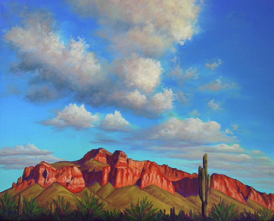 Clouds Over Superstitions by Cheryl Fecht