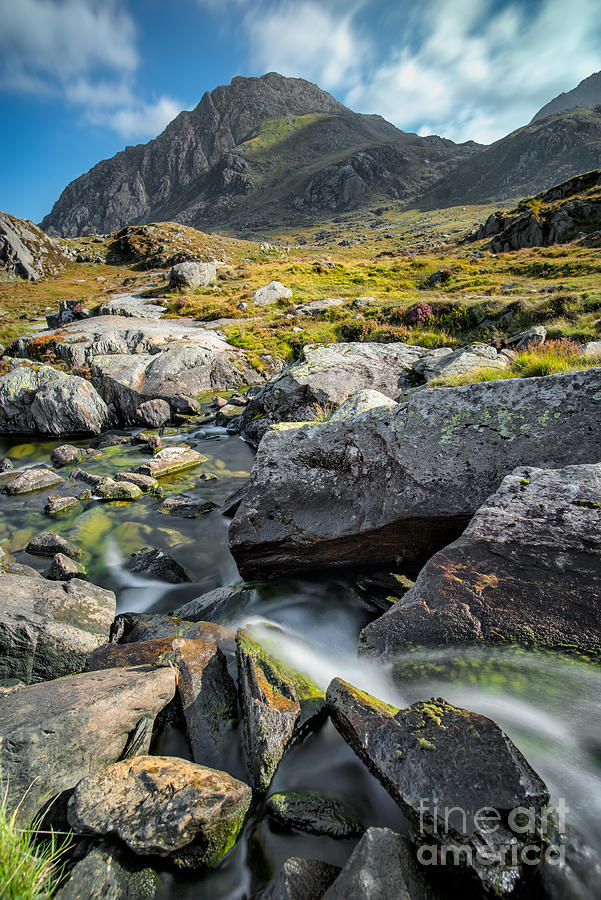 Autumn Photograph - Clouds Over Tryfan by Adrian Evans
