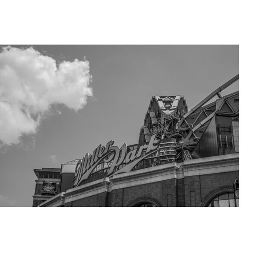 Clouds Photograph - #clouds #skyline #blacknwhite by David Haskett II