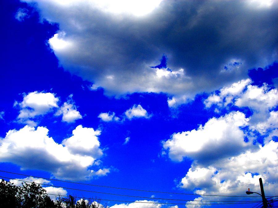 Digital Arts Photograph - Clouds Study  1 by Teo Santa