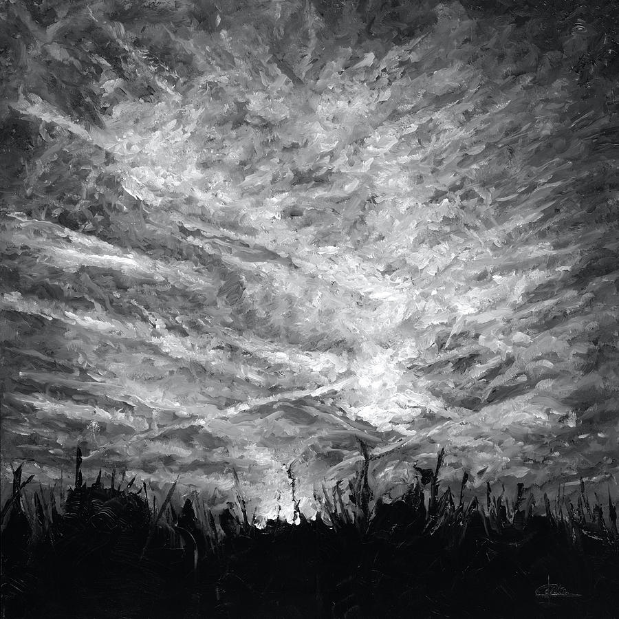 Cloudchaser Painting - Cloudscape 4 by Christian Klute