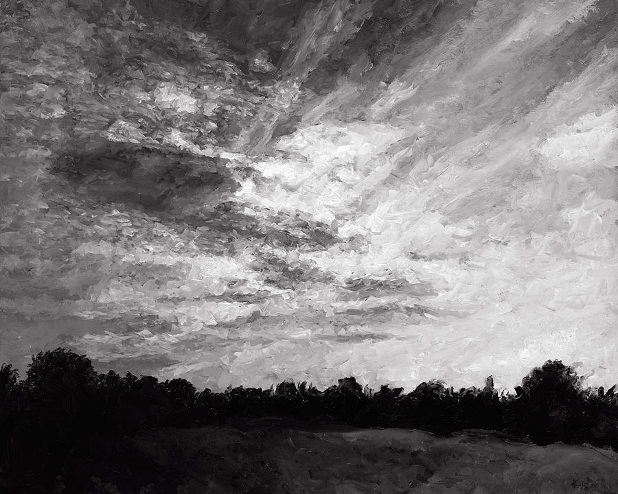 Cloudscape Painting - Cloudscape 6 by Christian Klute