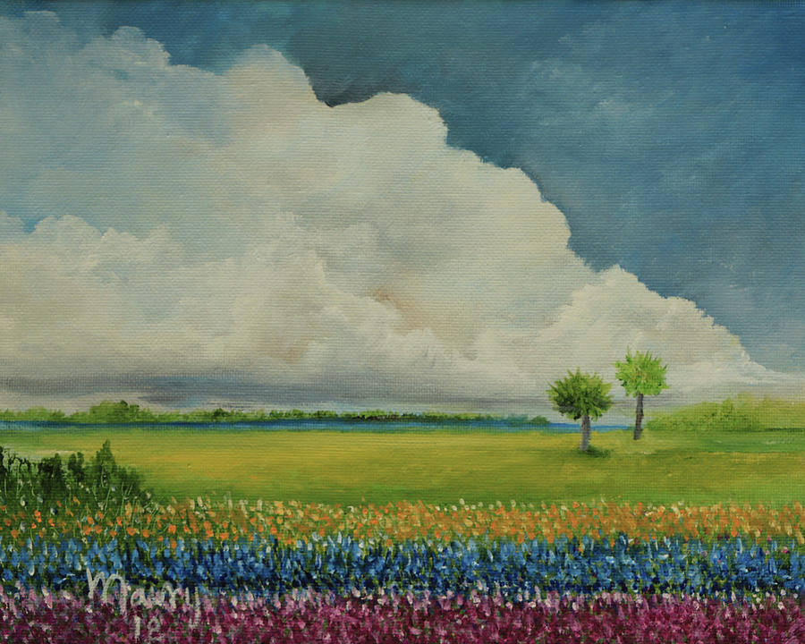 Cloudscape by Alicia Maury