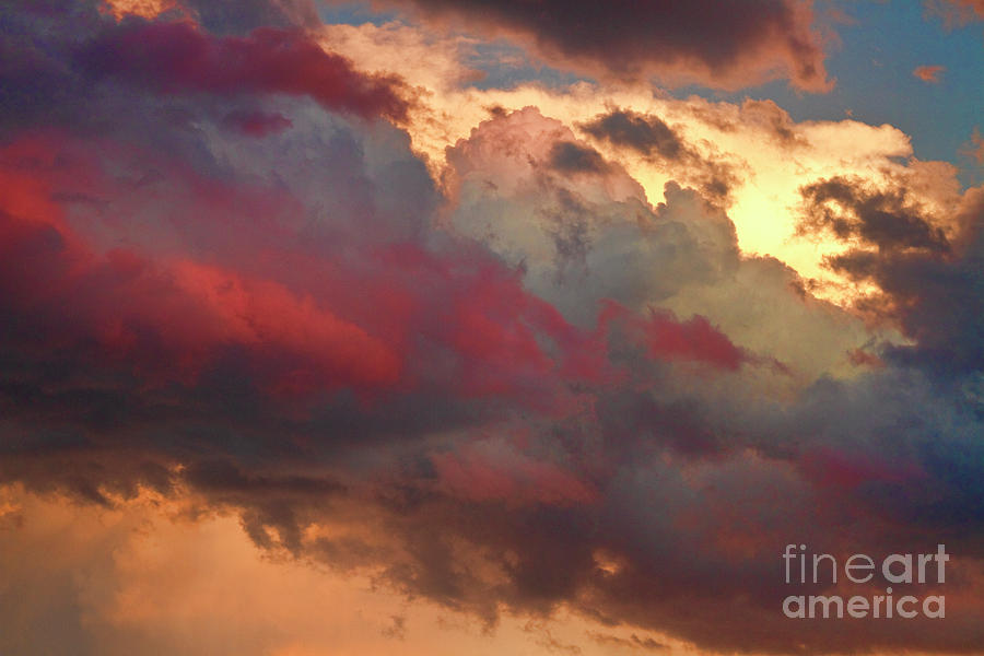 Sunsets Photograph - Cloudscape Sunset 46 by James BO  Insogna