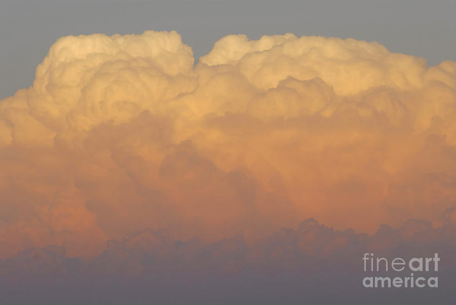 Clouds Photograph - Cloudscape Work  Number Six by David Lee Thompson