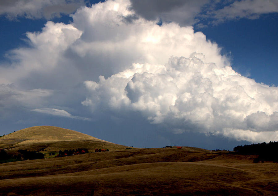 Mount Photograph - Cloudy  Day by Svetlana Peric