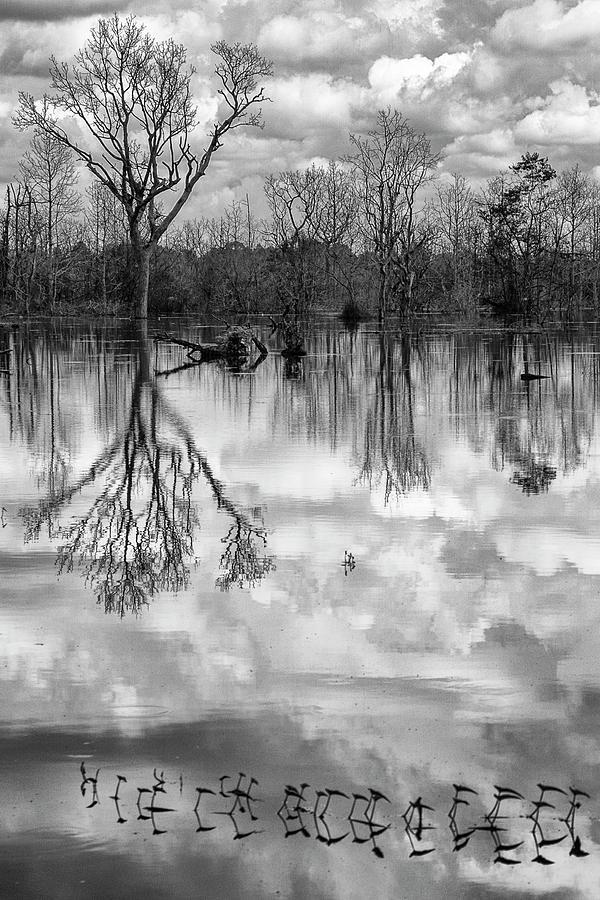 Cloudy reflection by Hitendra SINKAR