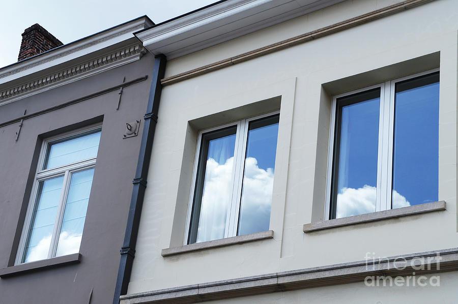Cloudy Windows by Ana Mireles