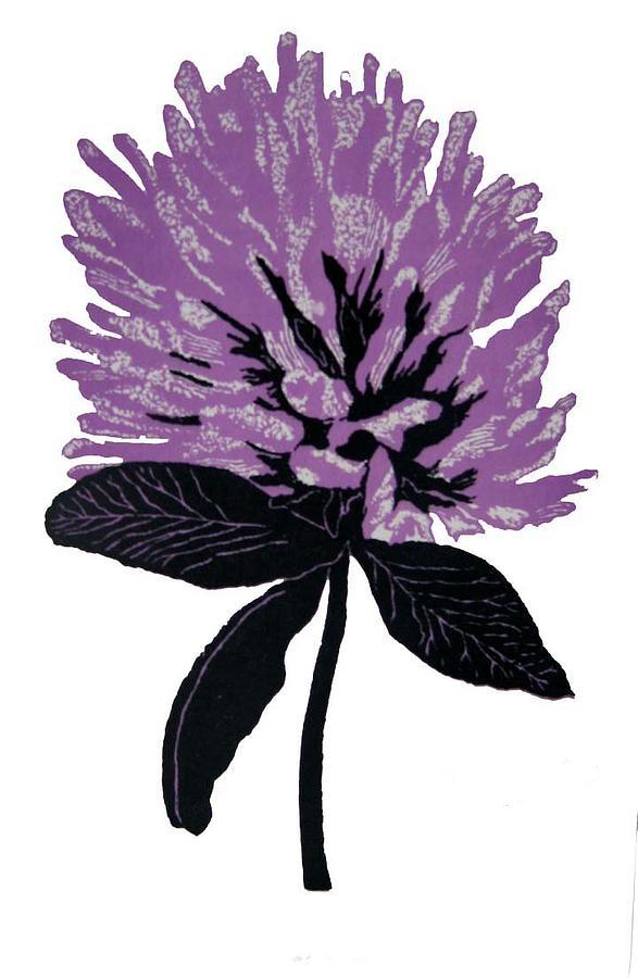 Wildflowers Print - Clover by Harriet Greene