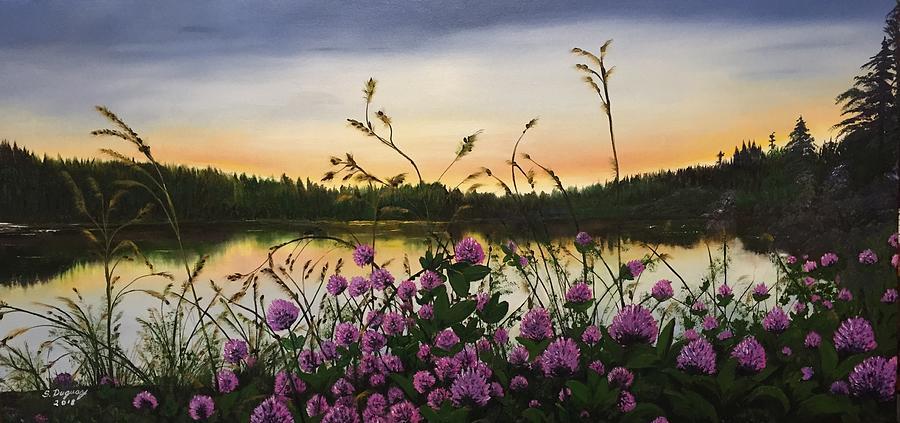 Clover Sunrise  by Sharon Duguay