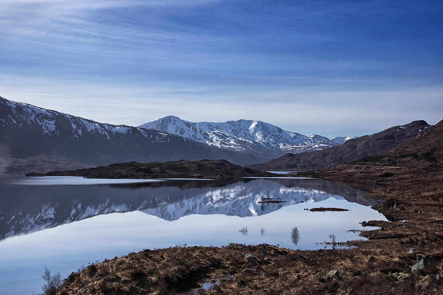 Loch Photograph - Cluanie Dam by Jacqi Elmslie