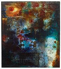 Organic Painting - Cluster 2002 by Jerry Jacobson