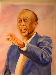 Coach Painting by Leonard R Wilkinson