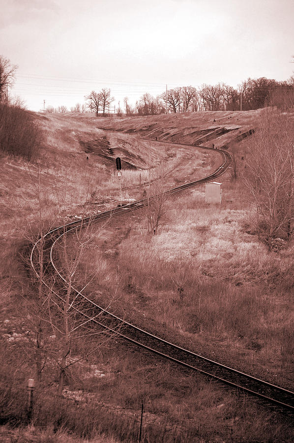 Coal Photograph - Coal Line S by Jame Hayes